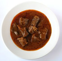 Goulash simple de carne