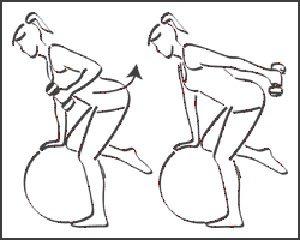 Extensión de codos triceps