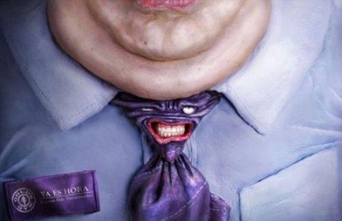 Afiches sobre la obesidad